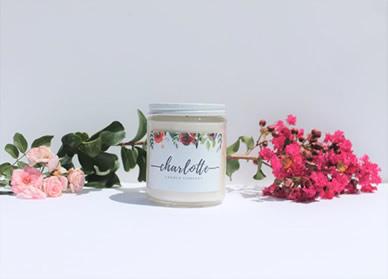 charlotte glass jars